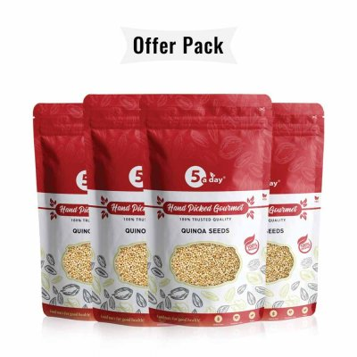 Quinoa Seeds, Pack of 4(250gm X 4) Recipes