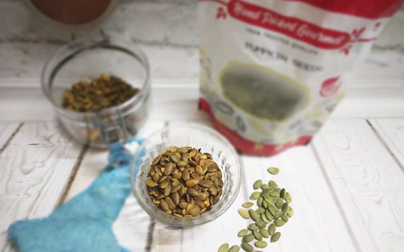 Roasted Masala Pumpkin Seeds